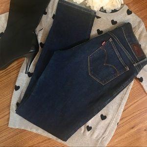 Levi's SF Supreme Curve Skinny Jeans Distressed 29